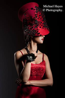 Photographer : Michael Hayes, MUA & Hair : Ciara Monaghan, Hat designer : Edwin, Model : Maksuda ( Ms. Ireland 2014)